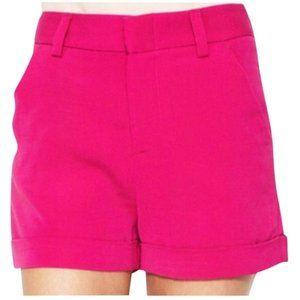 Alice + Olivia   Pink cuffed shorts